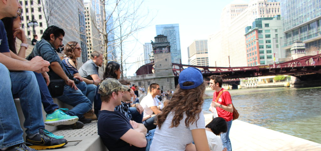 Chicago Riverwalk Walking Tour Eastland Disaster