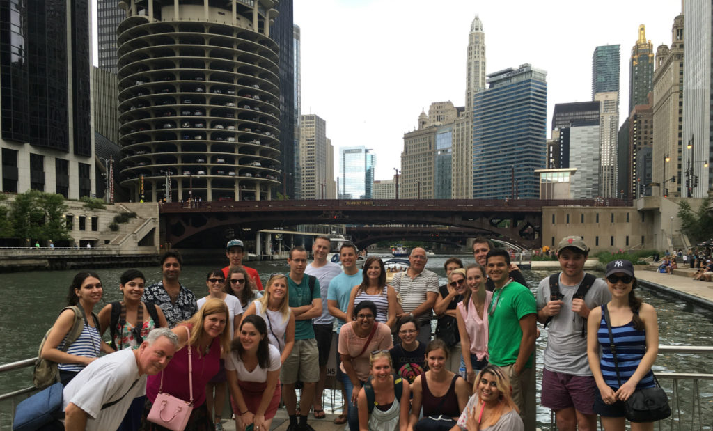 Free Chicago Walking Tours Riverwalk History North Loop Tour